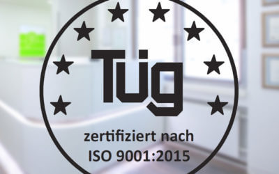 Wir haben das Zertifizierungsaudit der TÜG zur Qualitätssicherung bestanden