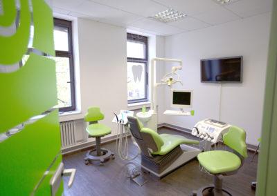 Behandlungsraum von Innen Zahnarzt bei Dr. Pantas Düsseldorf