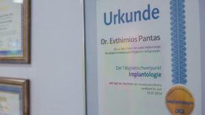 pantas zertifikat implantologie