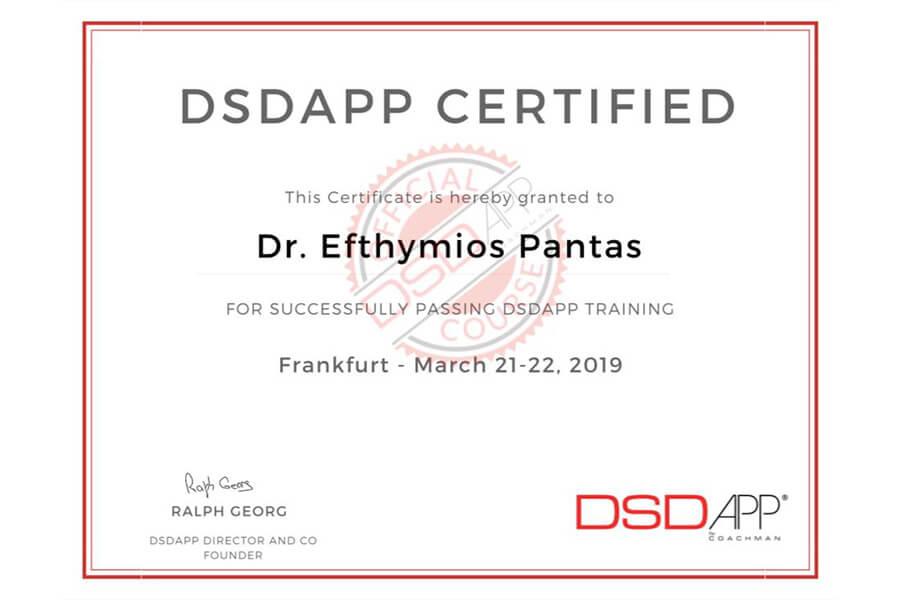 DSDAPP Zertifikat